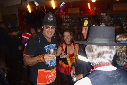 Trisler's Wine Bar Halloween